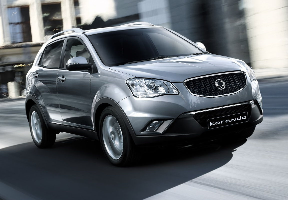 Pictures of ssangyong korando #10
