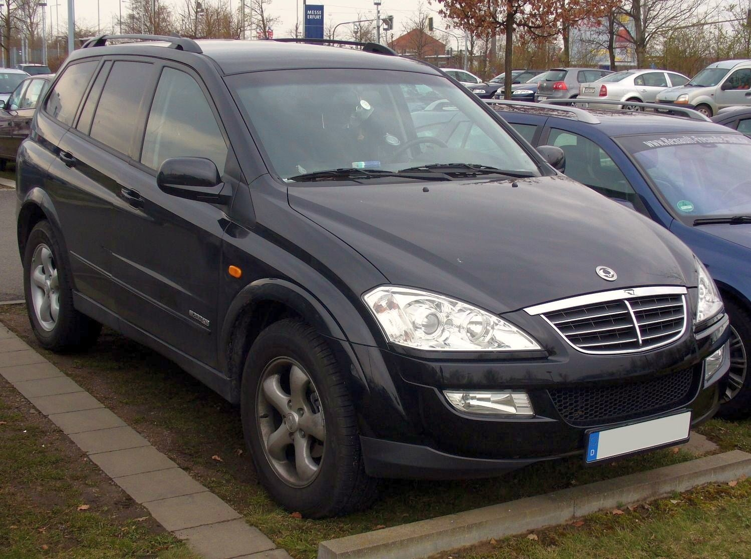 Pictures of ssangyong kyron ii 2009 #3