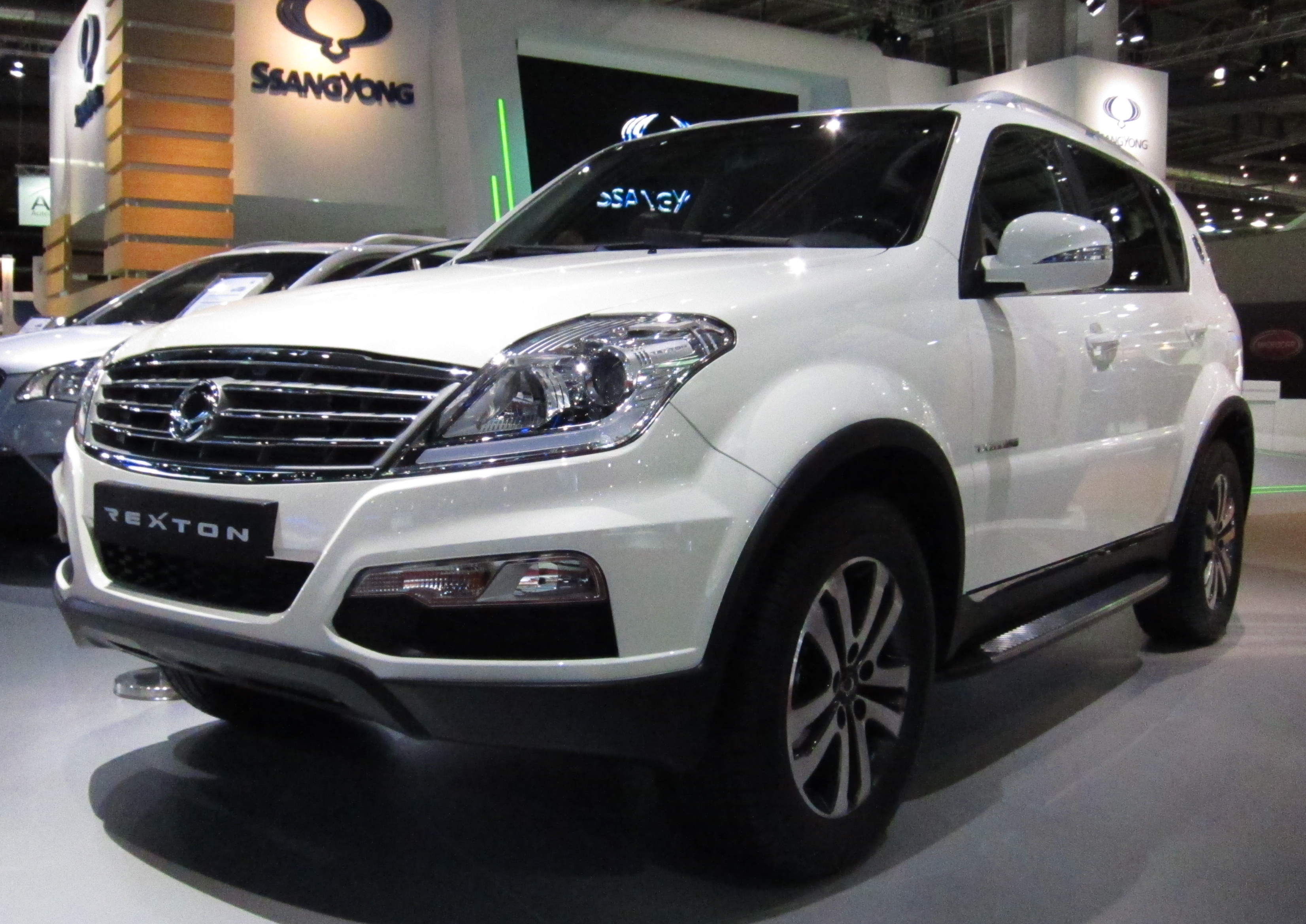 Pictures of ssangyong kyron ii 2012 #14