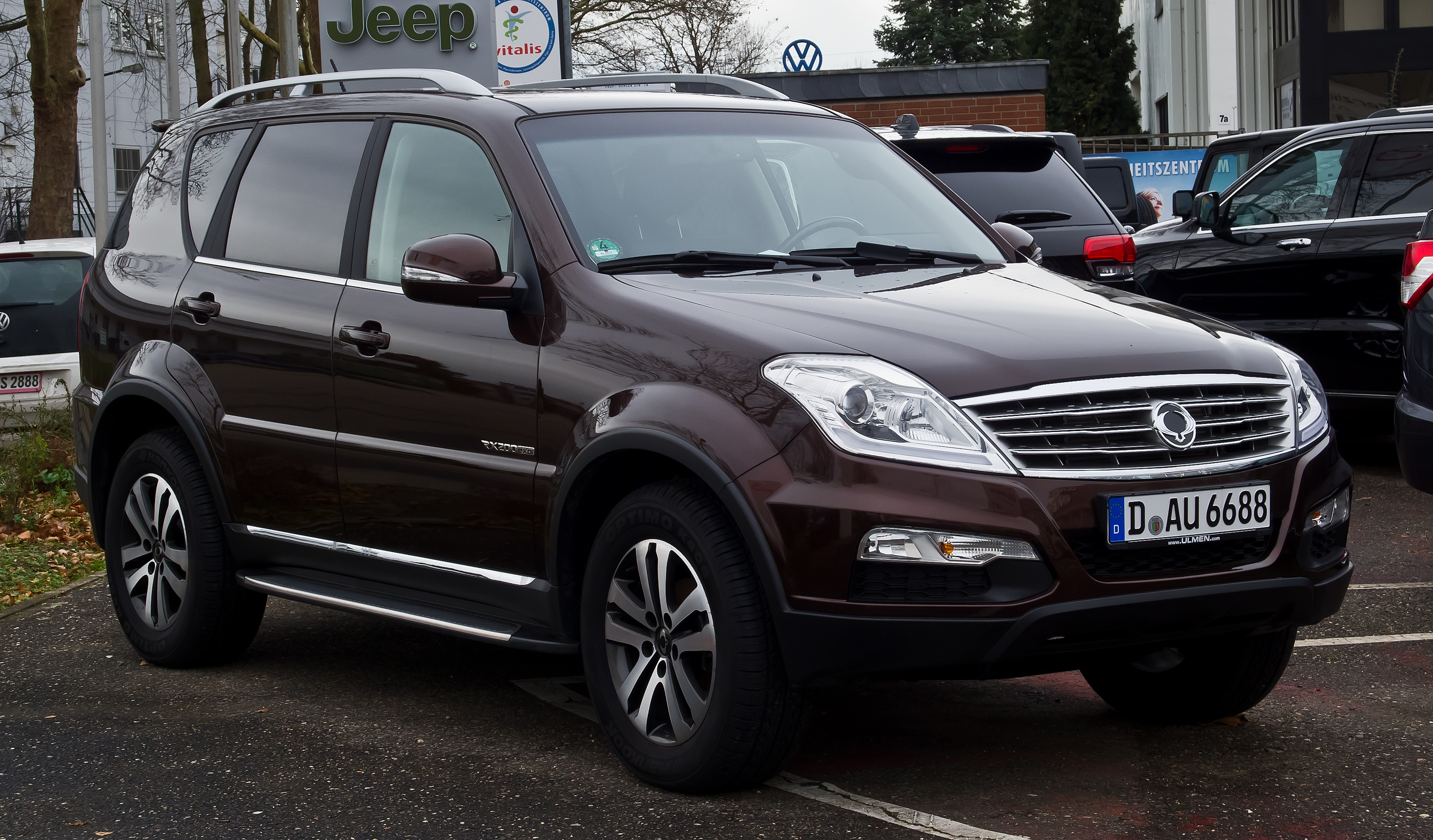 Pictures of ssangyong rexton