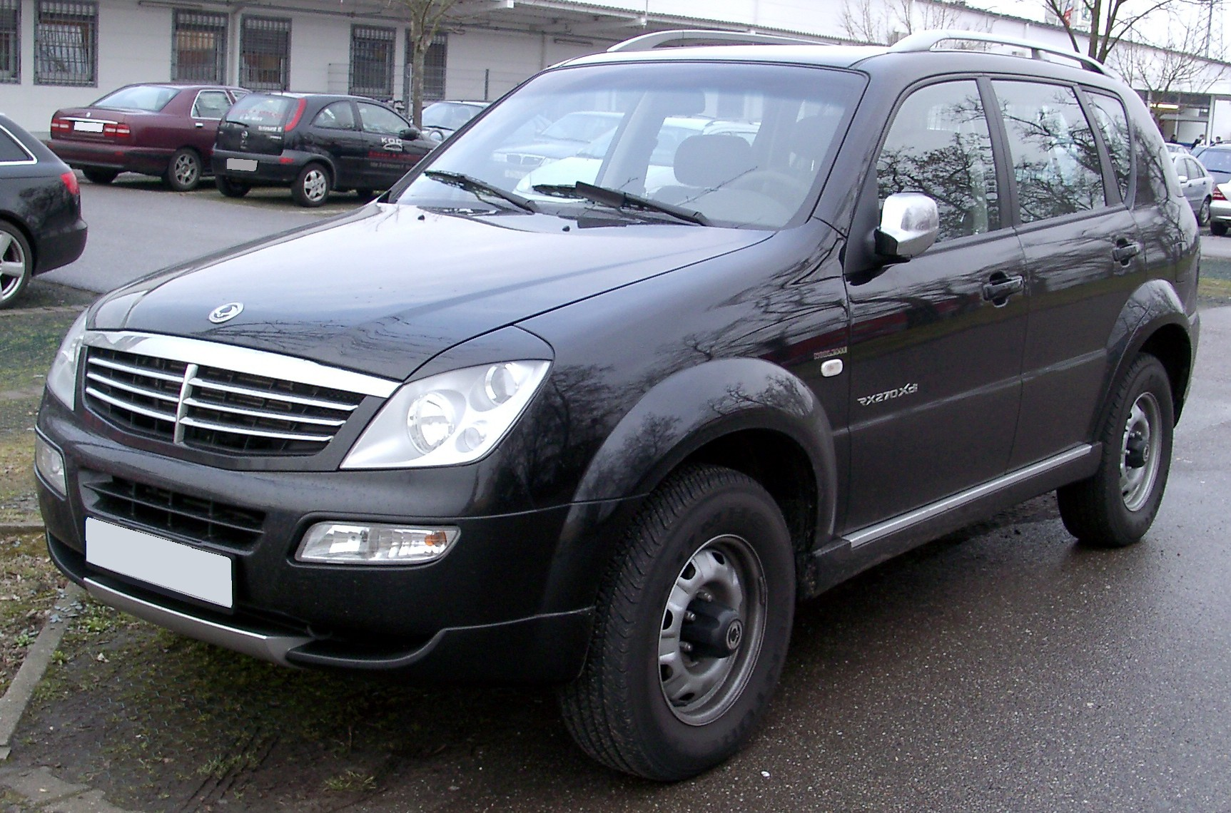 Pictures of ssangyong rexton i 2001