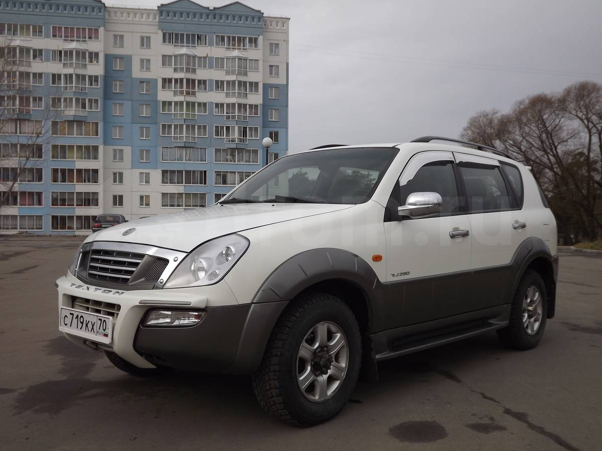 Pictures of ssangyong rexton i 2002
