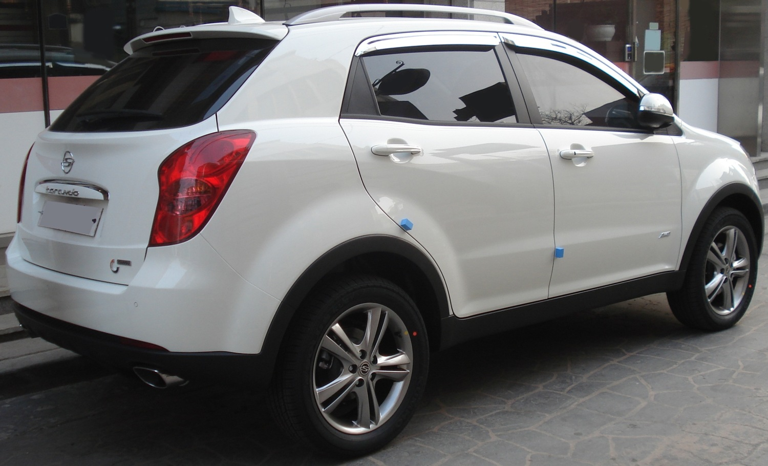 Pictures of ssangyong rexton ii 2007