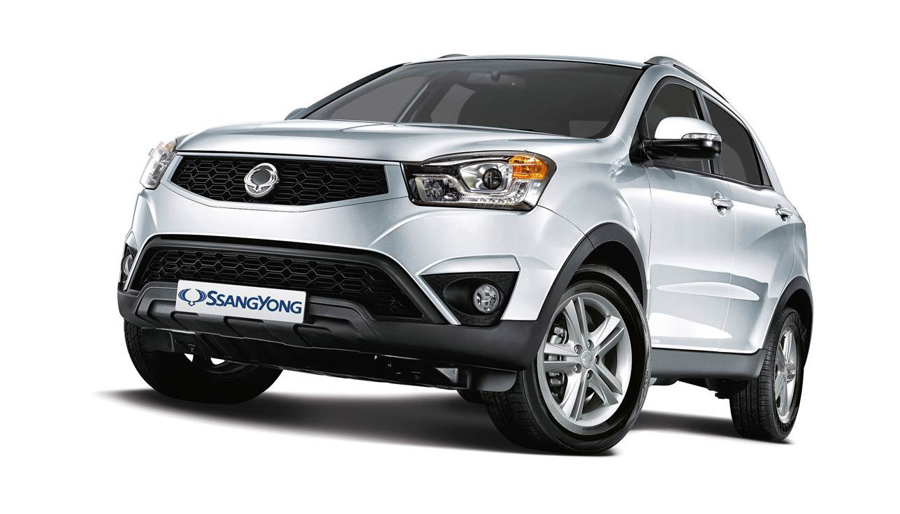 Pictures of ssangyong rexton ii 2015