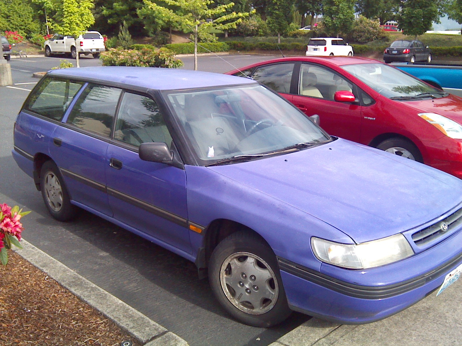 Pictures of subaru legacy wagon 2 1994