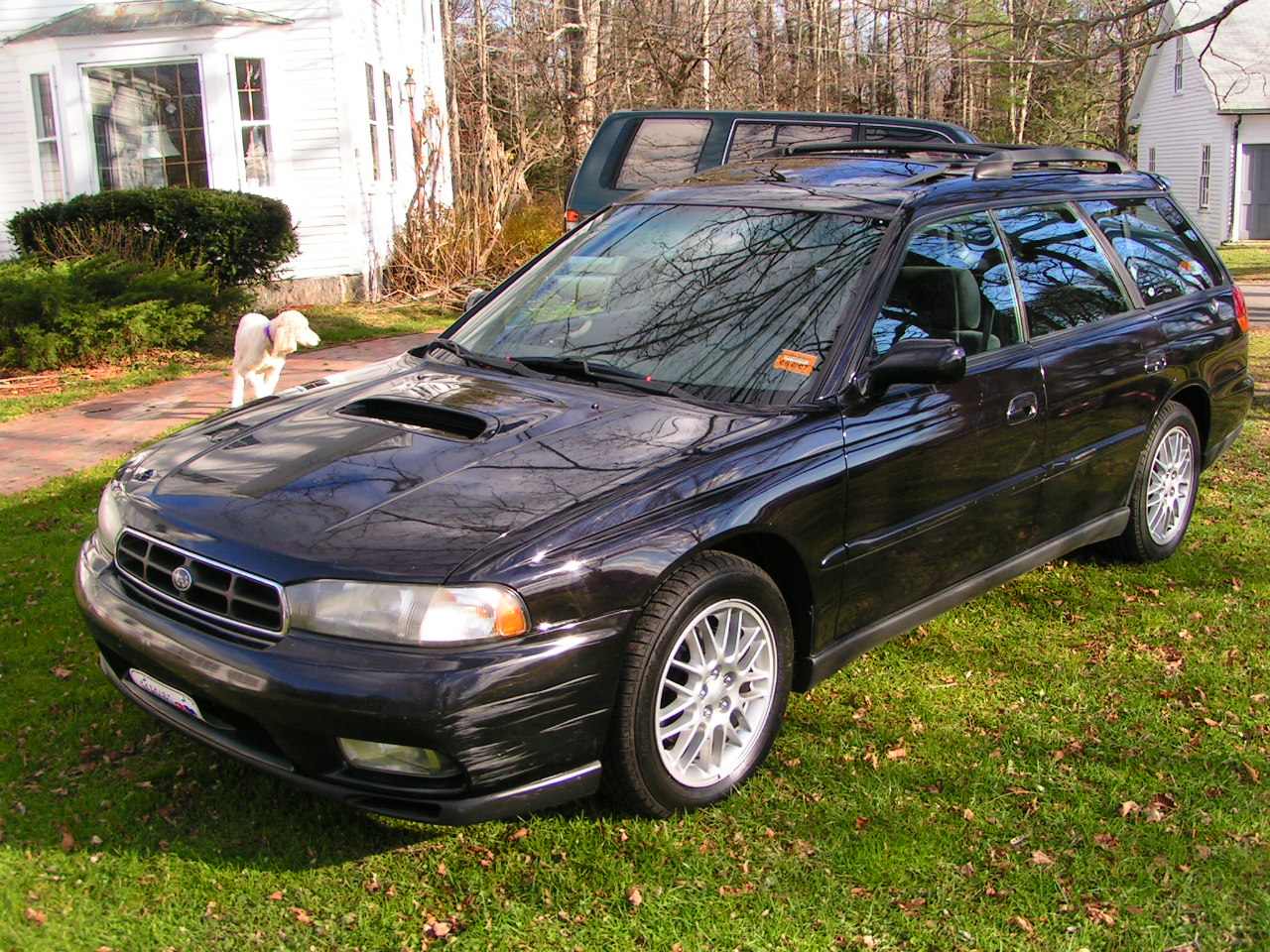 Pictures of subaru legacy wagon 2 1995