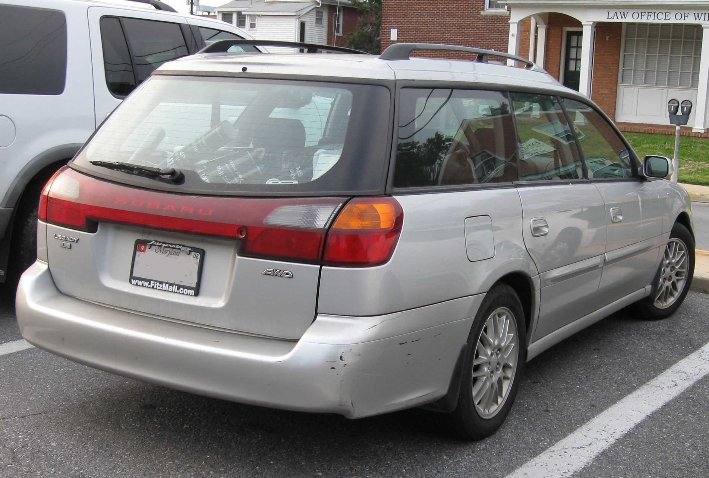 Pictures of subaru legacy wagon 3 2000 #3