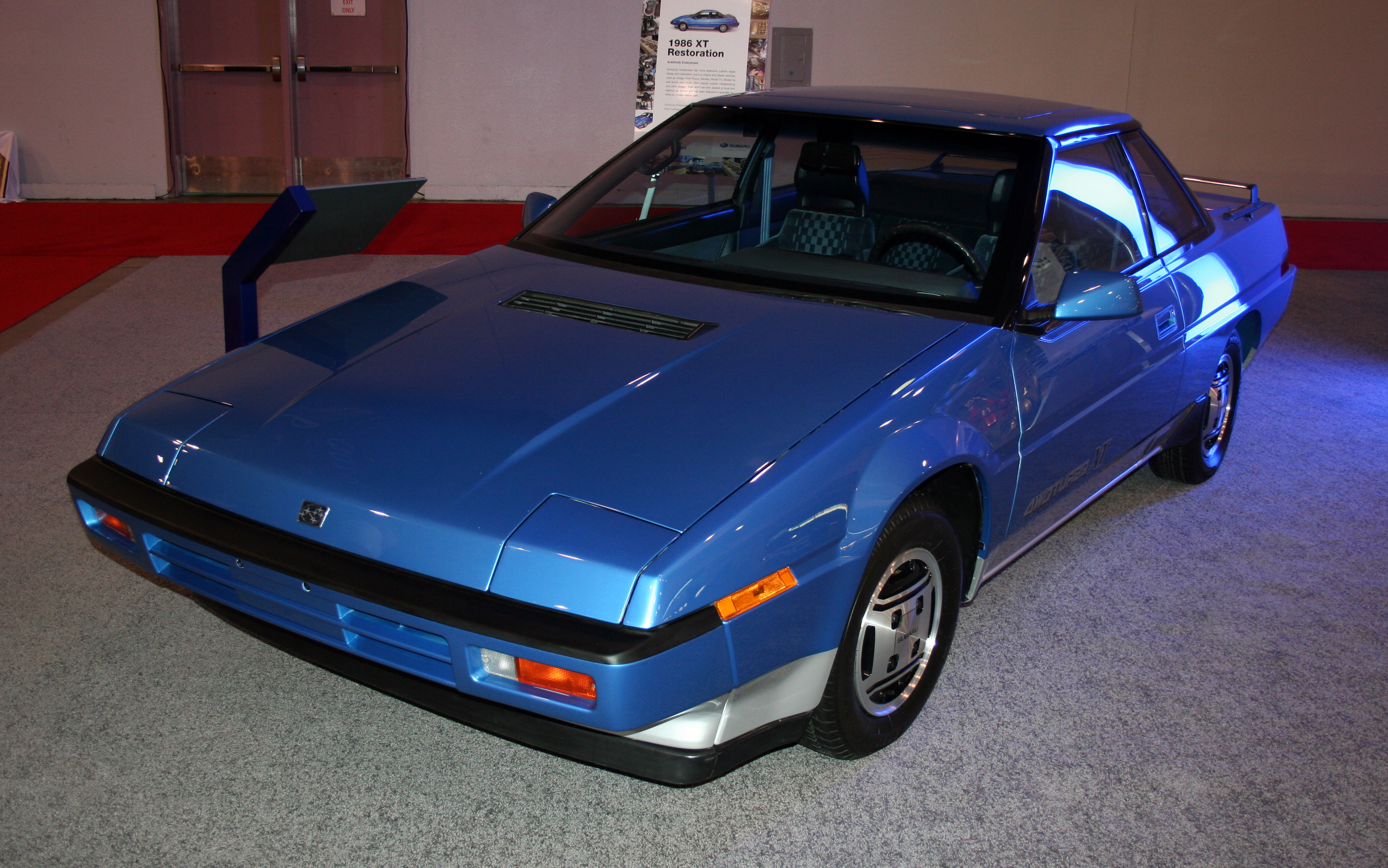 Pictures Of Subaru Xt Coupe 1990 #5