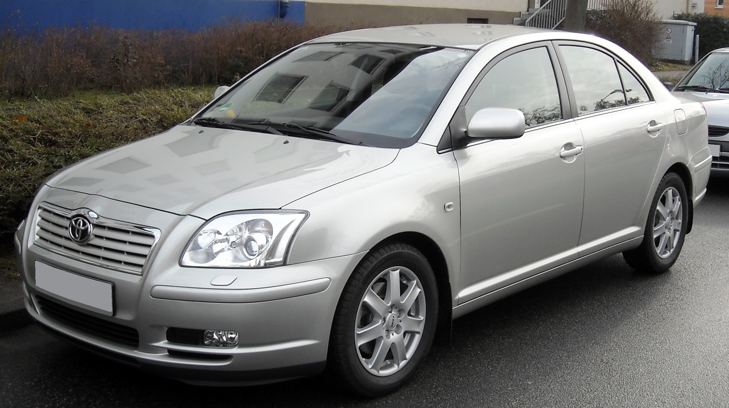 Pictures of toyota avensis