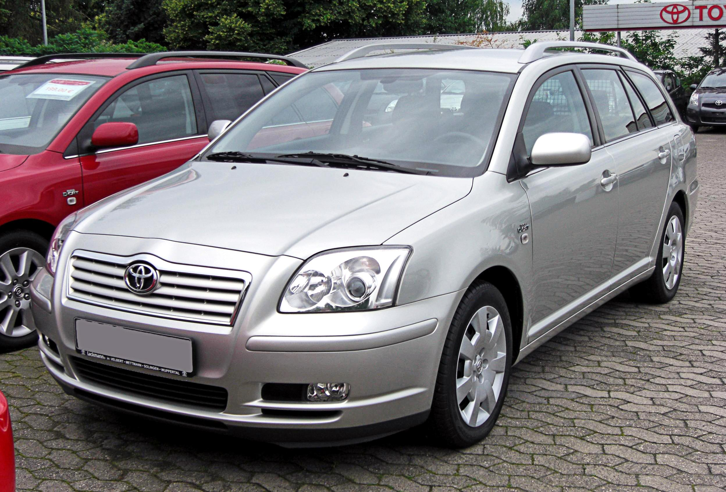 2005 toyota avensis ii pictures information and specs auto. Black Bedroom Furniture Sets. Home Design Ideas