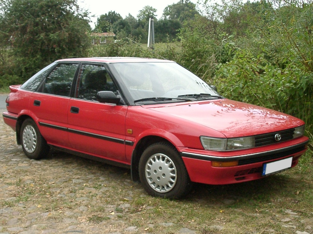 1990 toyota corolla compact e9 pictures information. Black Bedroom Furniture Sets. Home Design Ideas
