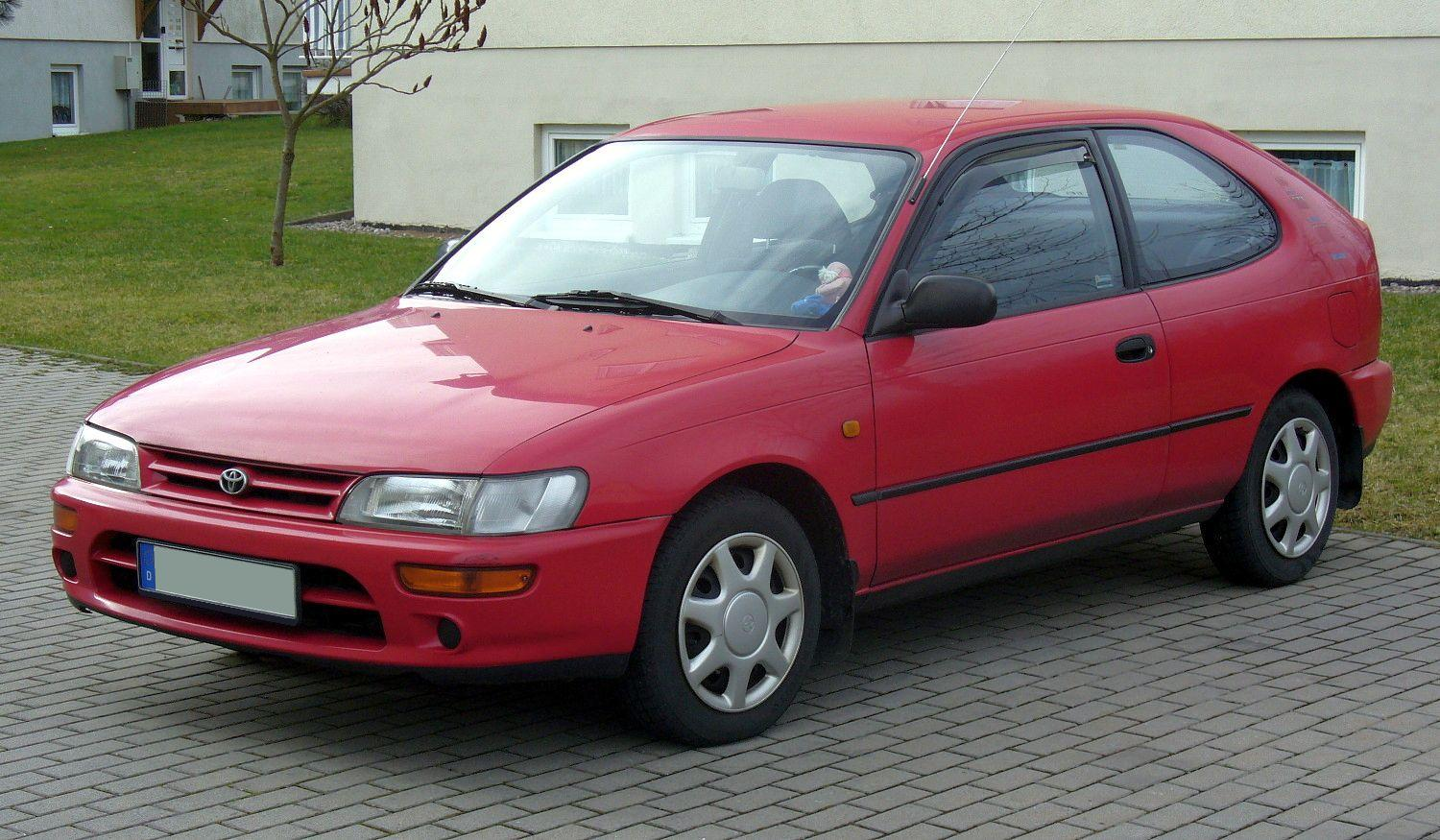 Pictures of toyota corolla (e10) 1996