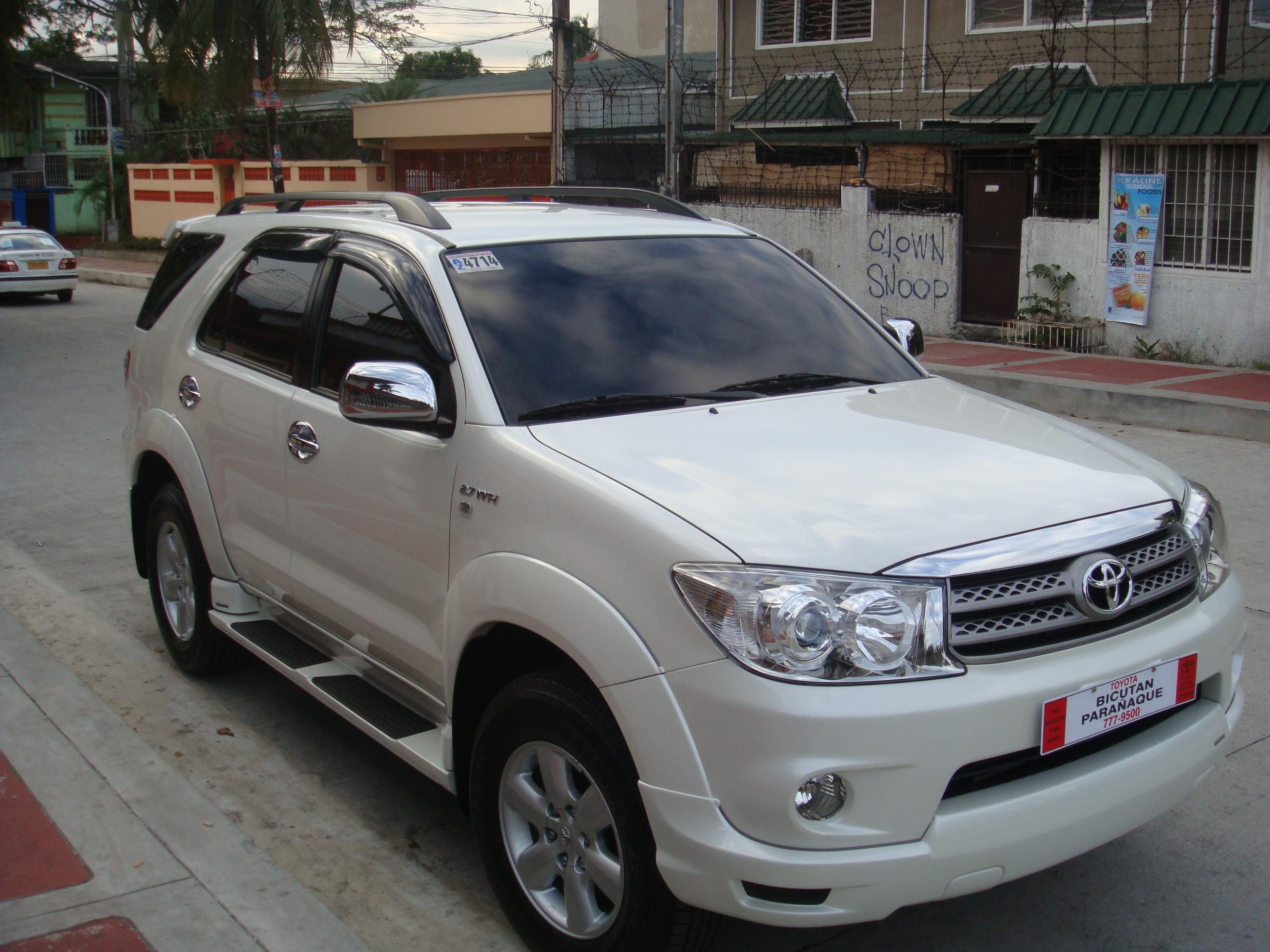 Pictures of toyota fortuner 2010