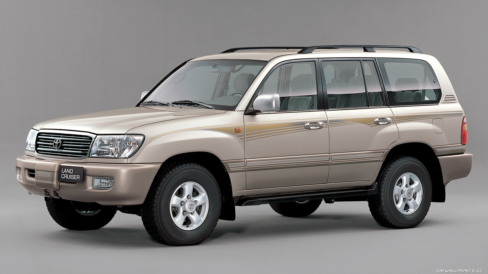 1998 Toyota Land Cruiser 100 Pictures Information And