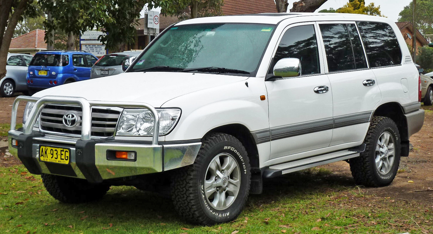 pictures of toyota land cruiser 100 2006 auto. Black Bedroom Furniture Sets. Home Design Ideas