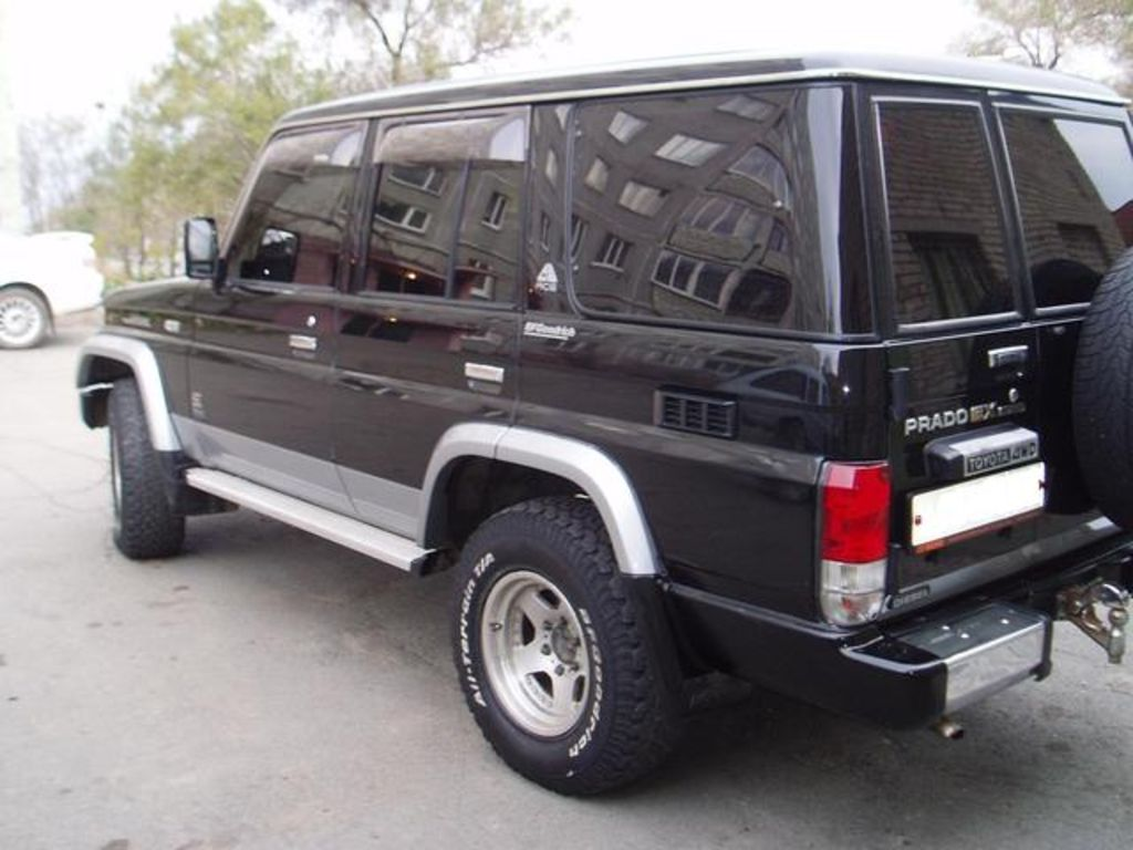 Pictures of toyota land cruiser (j7) 1990 #7