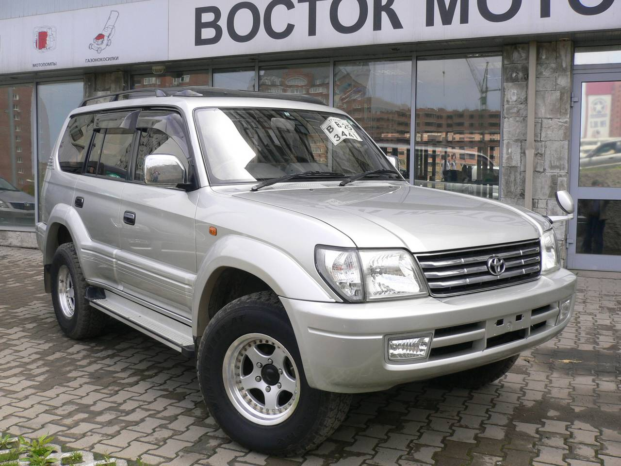 Pictures Of Toyota Land Cruiser Prado J9 2000 Auto