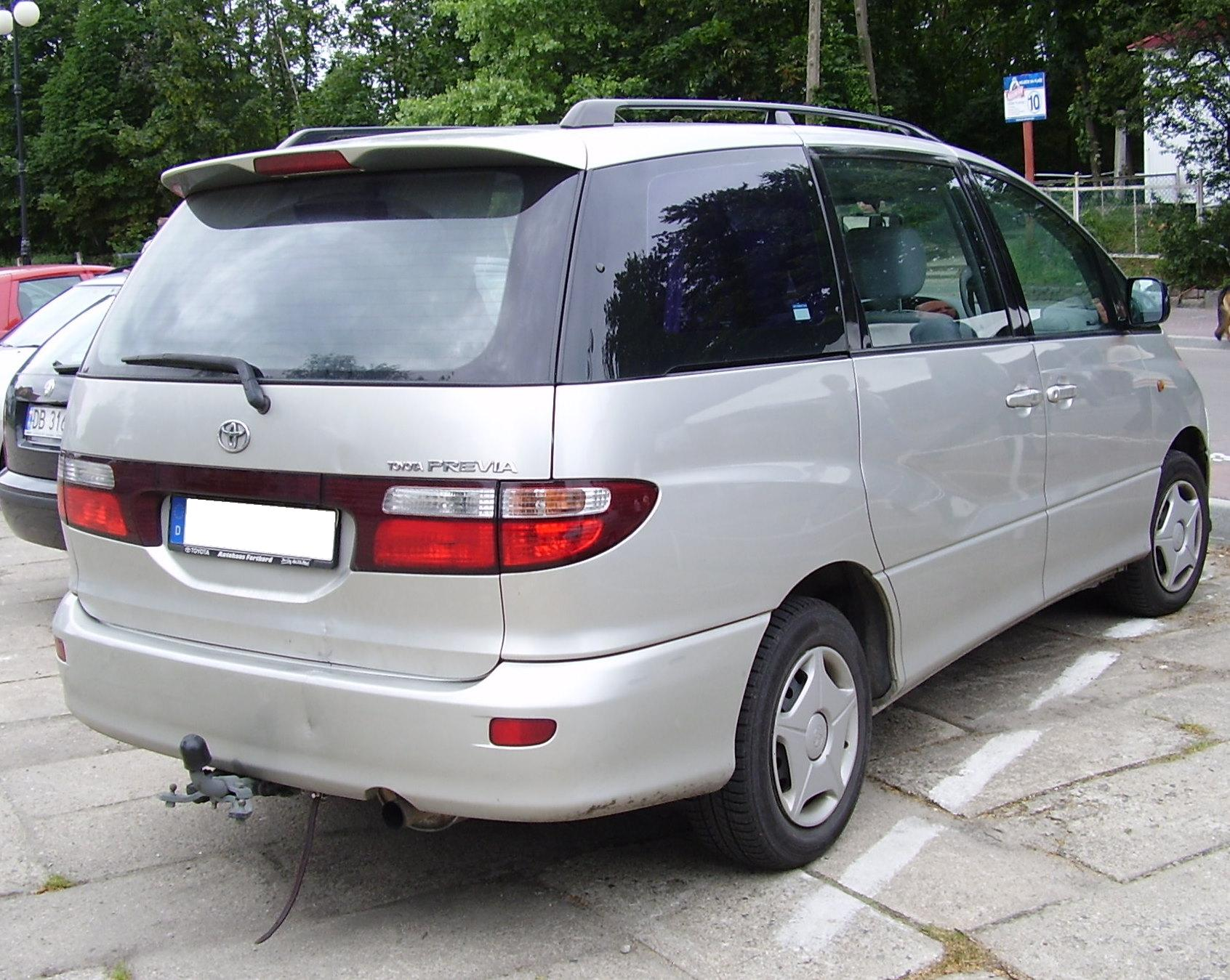 Pictures of toyota previa #7