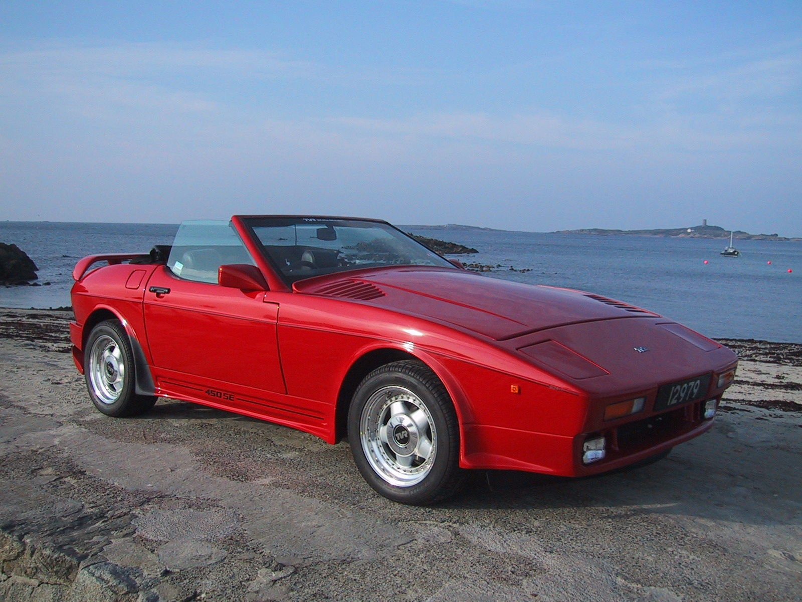 Pictures of tvr 450 1990