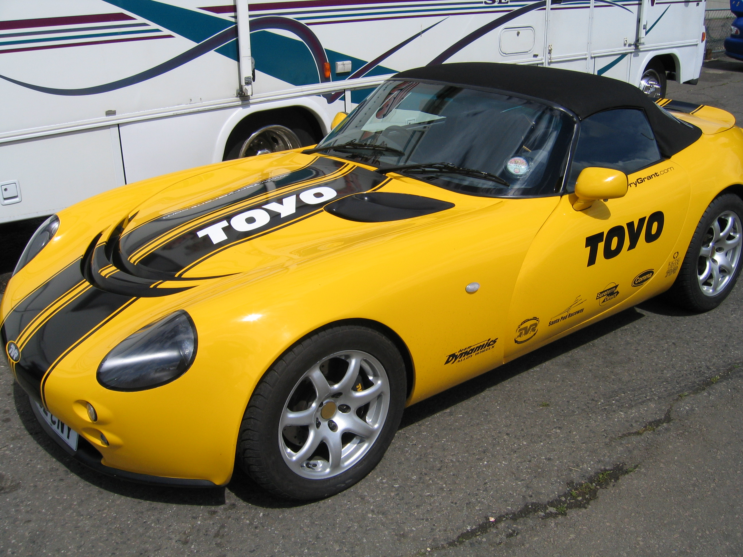 Pictures of tvr tamora