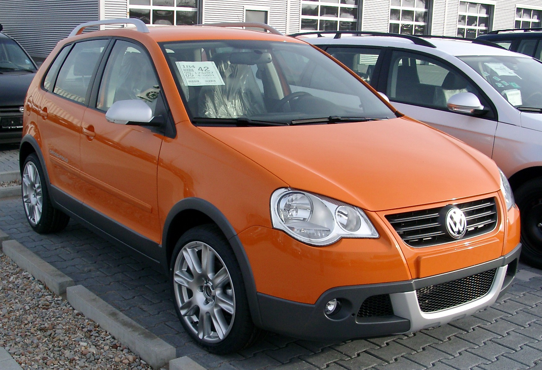 2008 volkswagen cross polo pictures information and. Black Bedroom Furniture Sets. Home Design Ideas