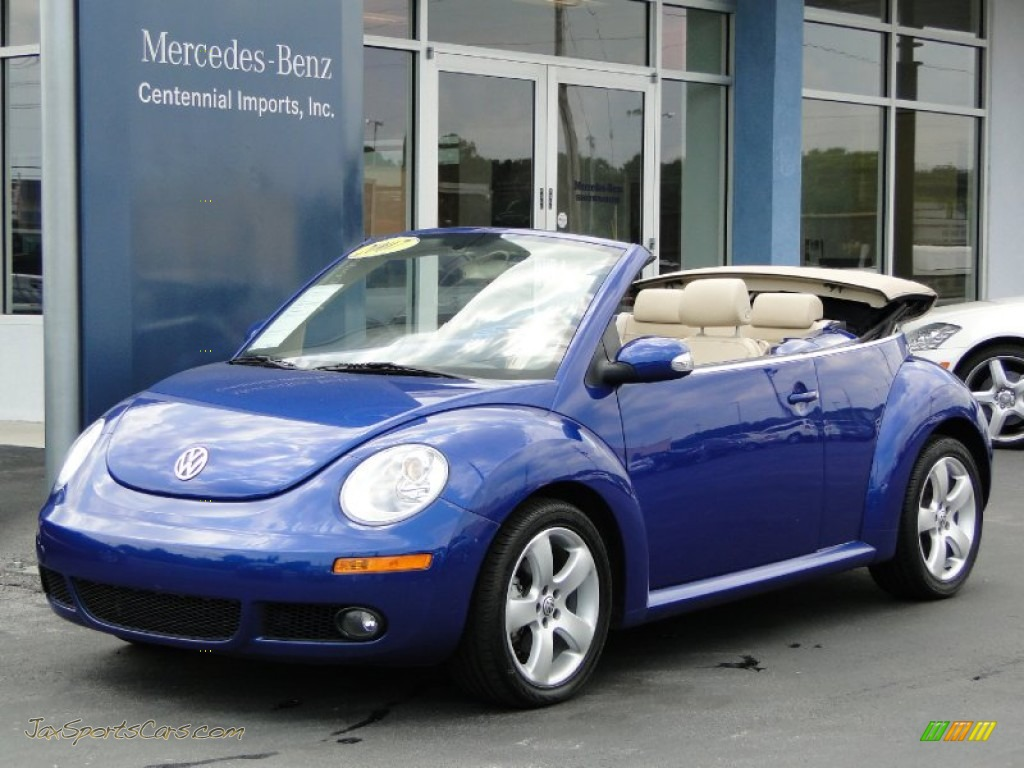 Pictures Of Volkswagen New Beetle Convertible 2007 8