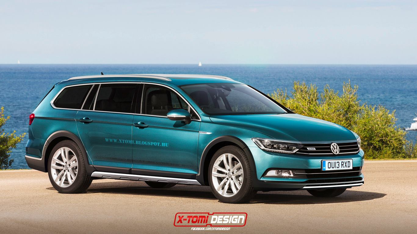 Pictures of volkswagen passat altrack (b7) 2016