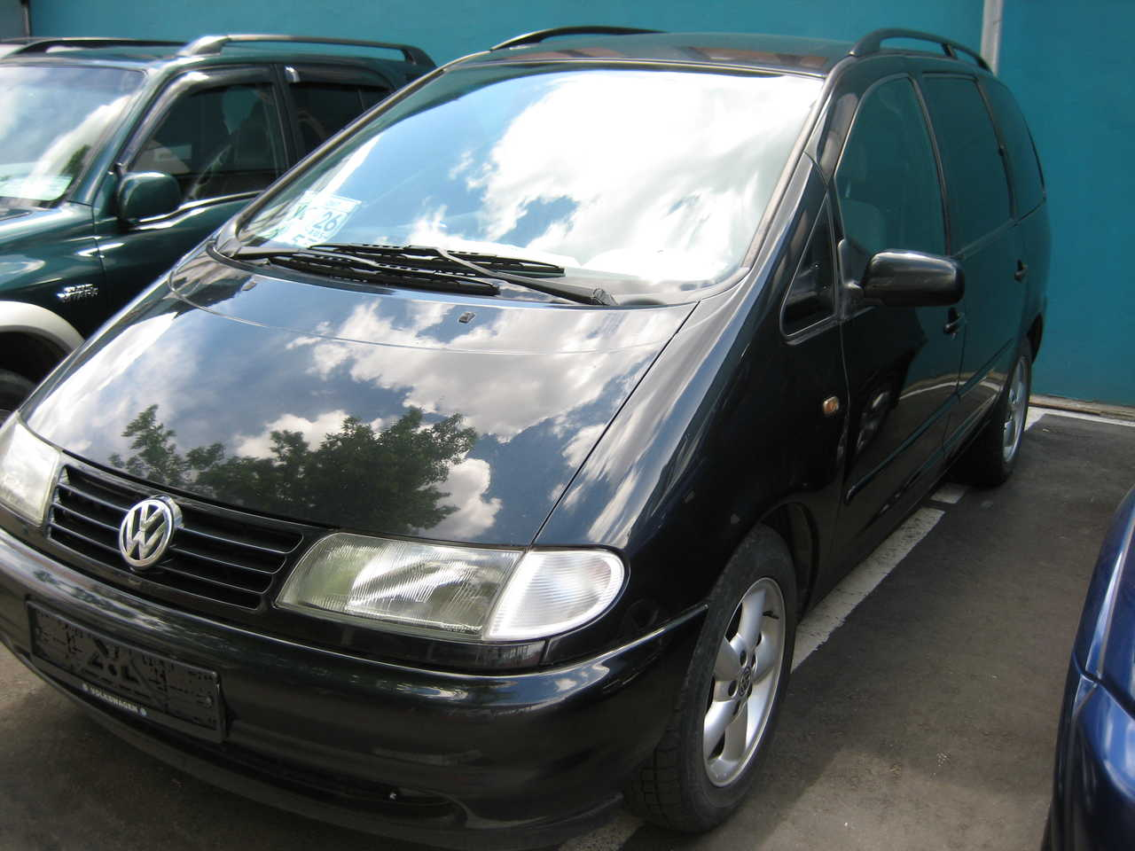 Pictures of volkswagen sharan (7m) 1995 #13