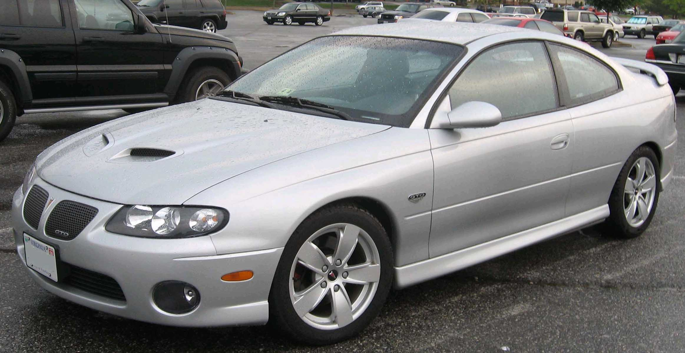 2005 Pontiac Gto – pictures, information and specs - Auto-Database.com