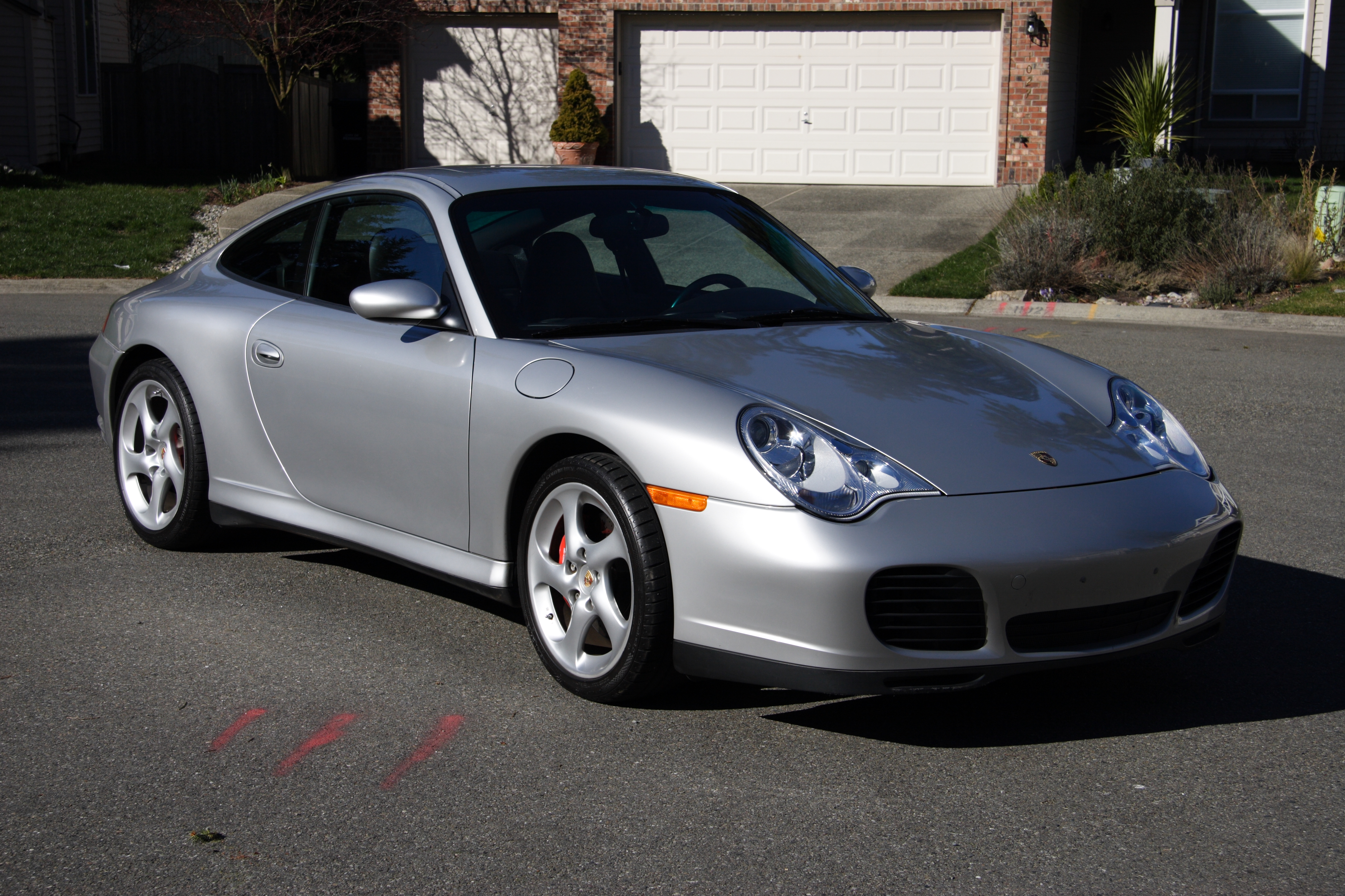porsche 911 turbo (996) 2000 wallpaper #14