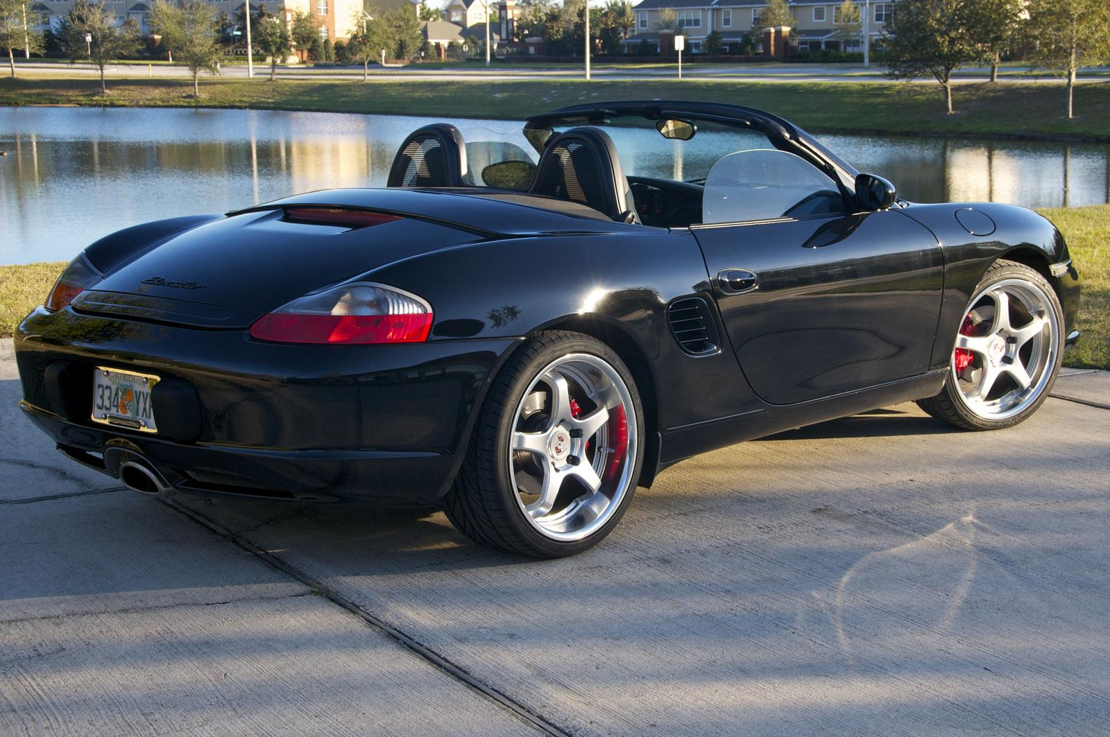2001 Porsche Boxster (986/987) – pictures, information and specs