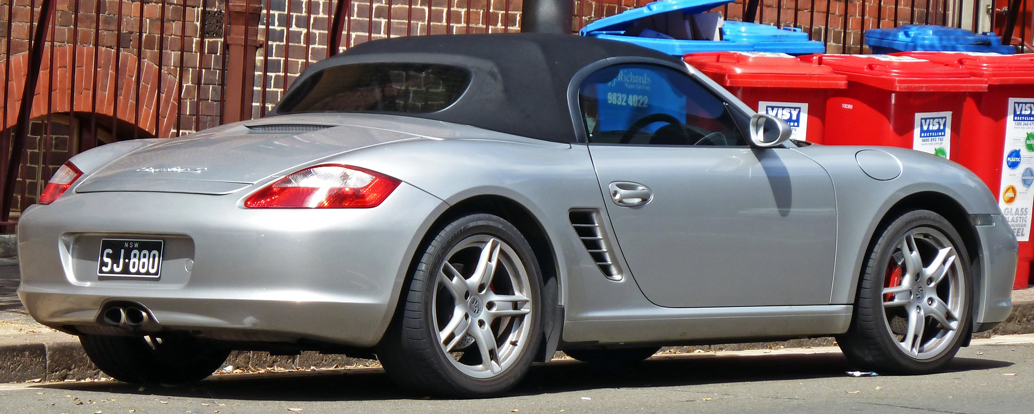 2011 Porsche Boxster 986987  pictures information and specs