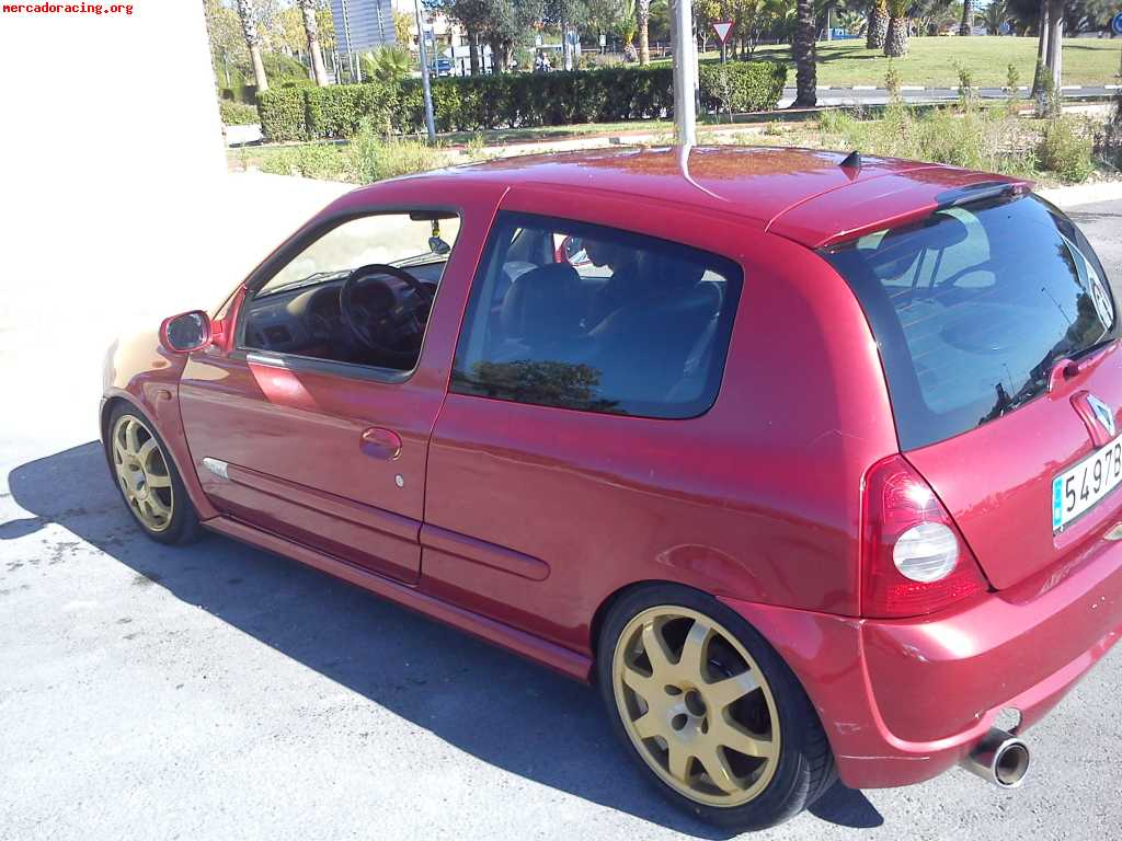 2001 renault clio ii sport pictures information and specs auto. Black Bedroom Furniture Sets. Home Design Ideas