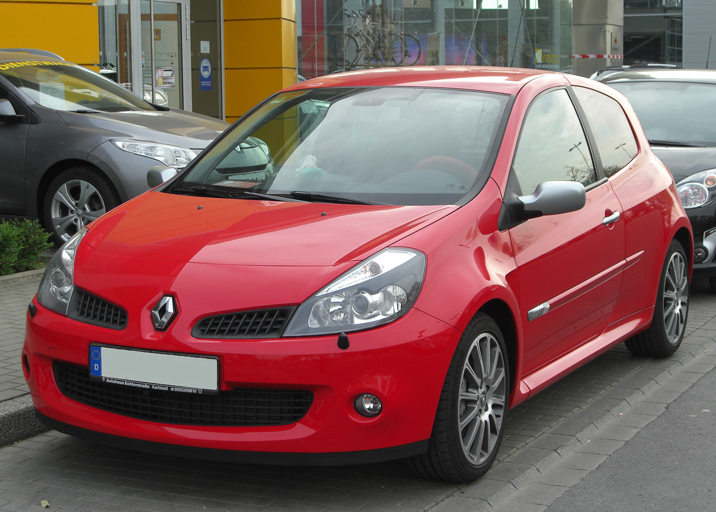 2006 renault clio iii pictures information and specs. Black Bedroom Furniture Sets. Home Design Ideas
