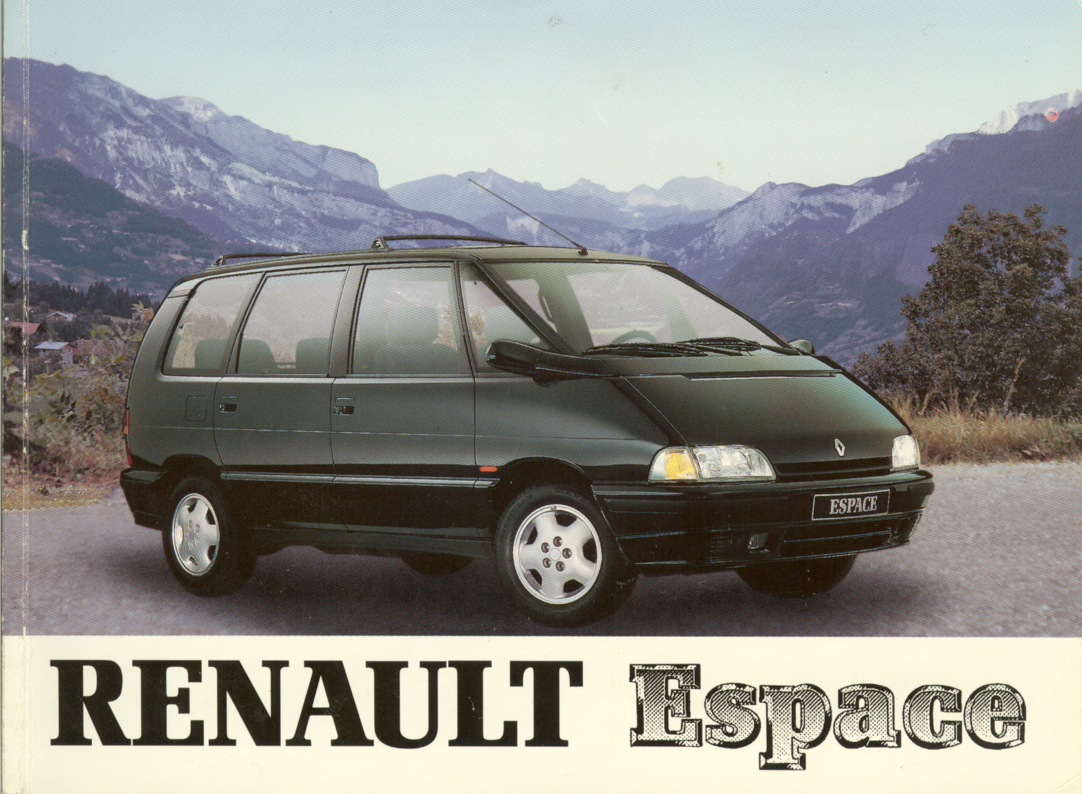 1991 renault espace ii j63 pictures information and specs auto. Black Bedroom Furniture Sets. Home Design Ideas