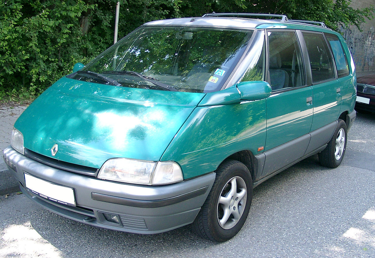 1995 renault espace ii j63 pictures information and specs auto. Black Bedroom Furniture Sets. Home Design Ideas