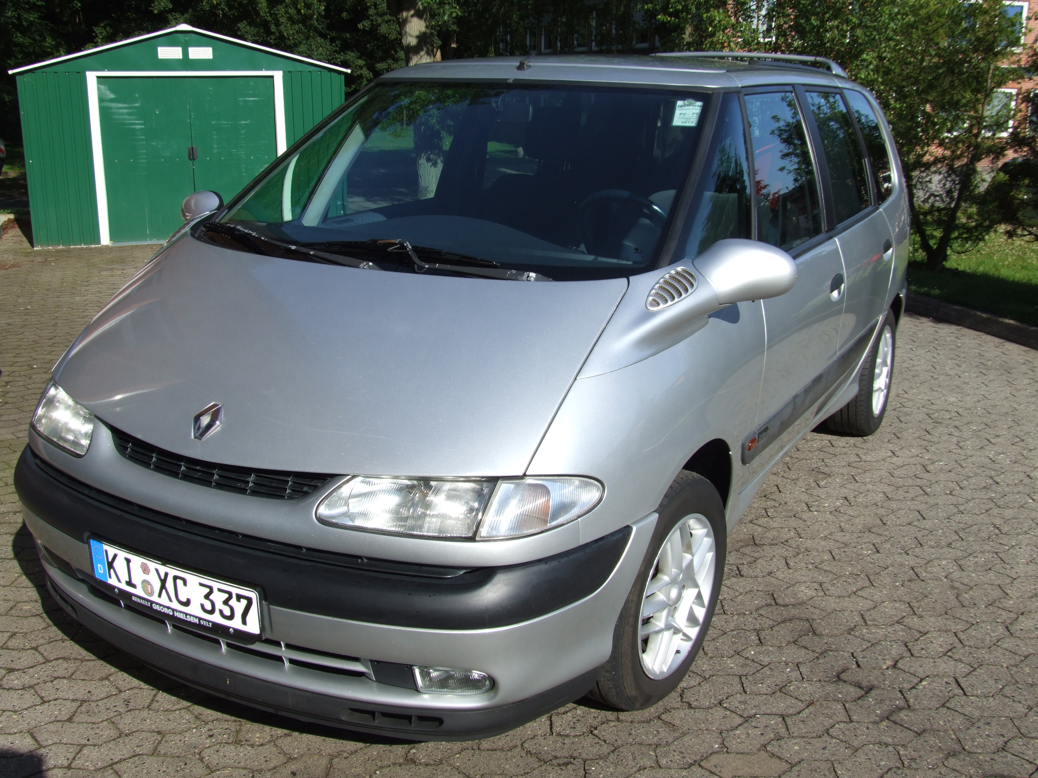 1998 renault espace iii je pictures information and specs auto. Black Bedroom Furniture Sets. Home Design Ideas