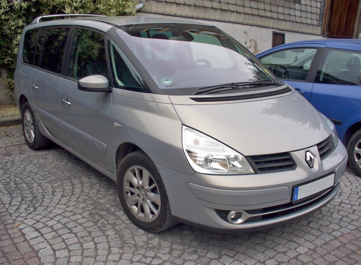 2008 renault espace iv pictures information and specs. Black Bedroom Furniture Sets. Home Design Ideas