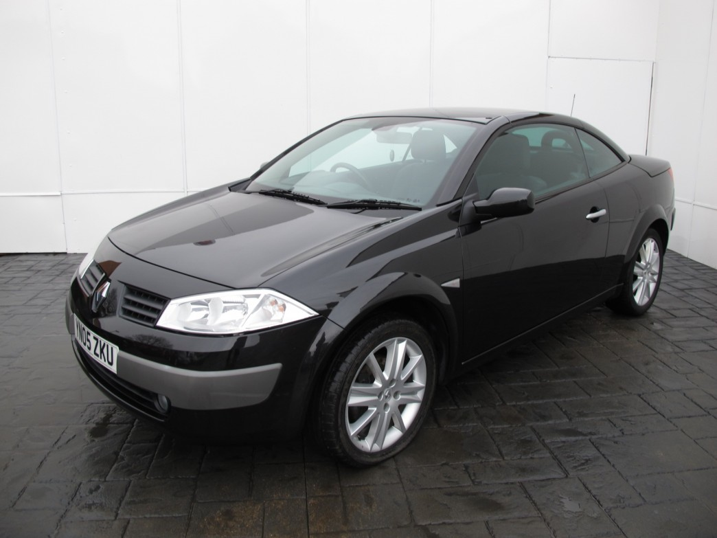 2005 renault megane ii cc pictures information and. Black Bedroom Furniture Sets. Home Design Ideas