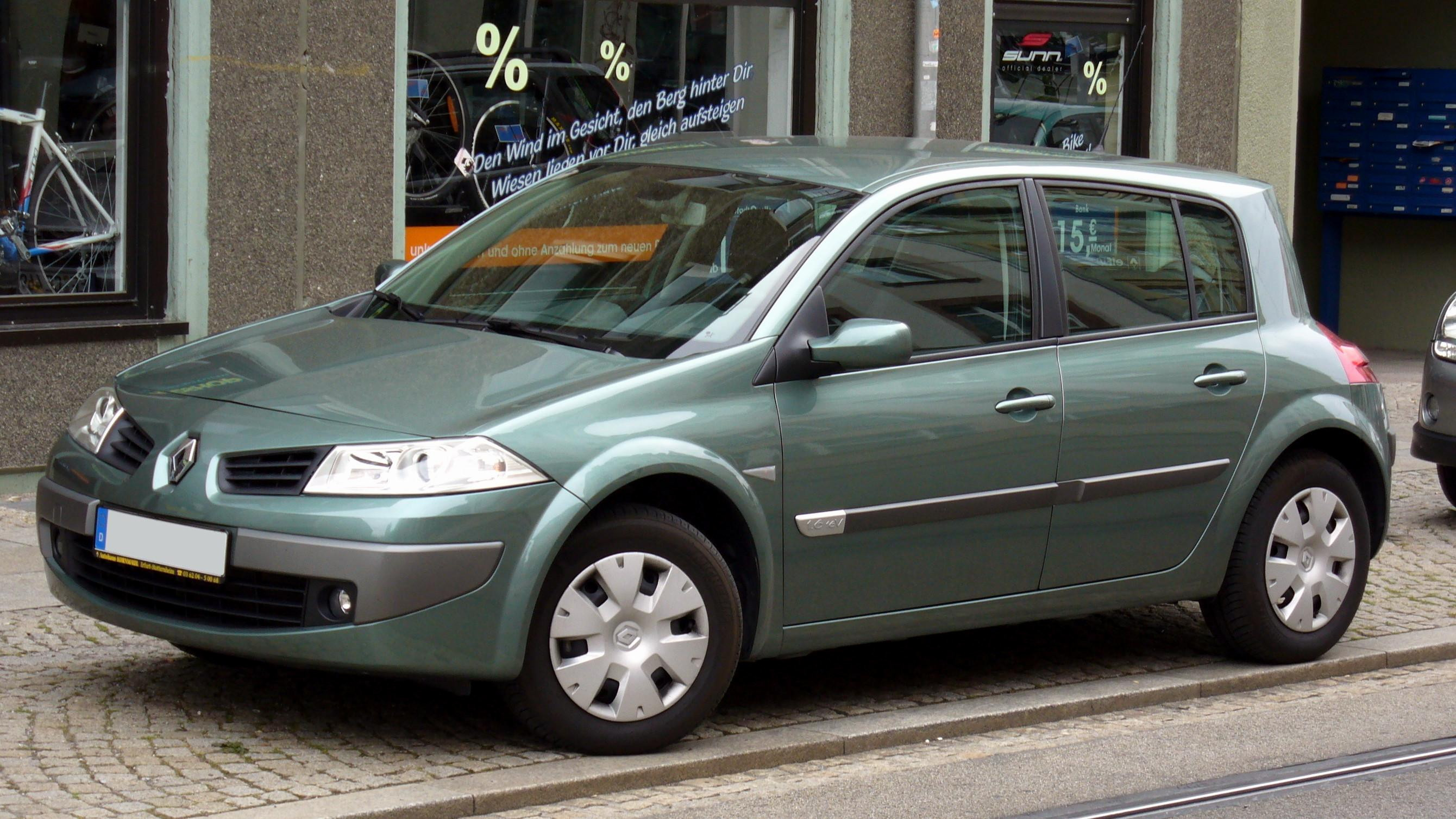 2004 renault megane ii classic pictures information and specs auto. Black Bedroom Furniture Sets. Home Design Ideas