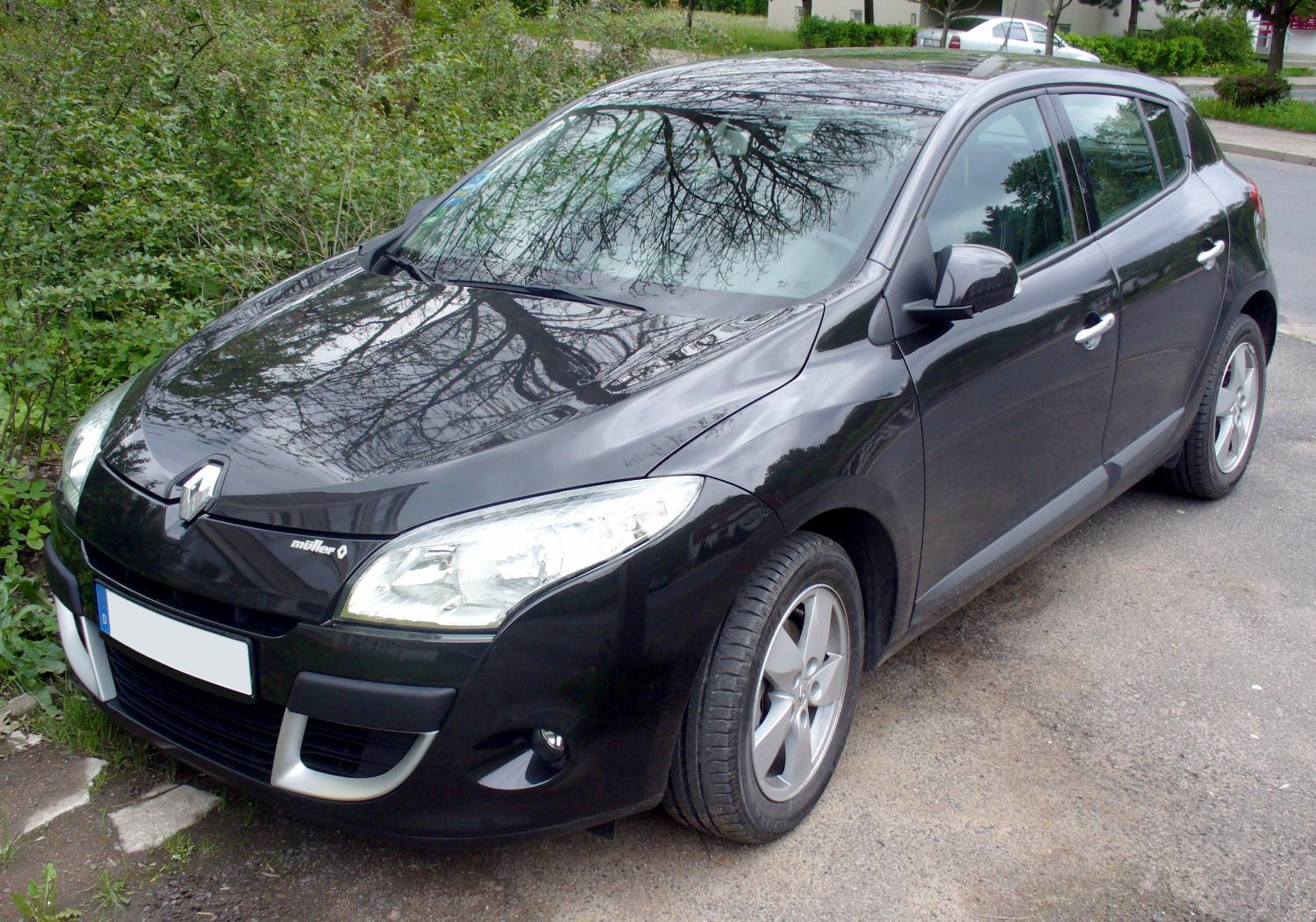 renault megane iii cc 2009 pictures