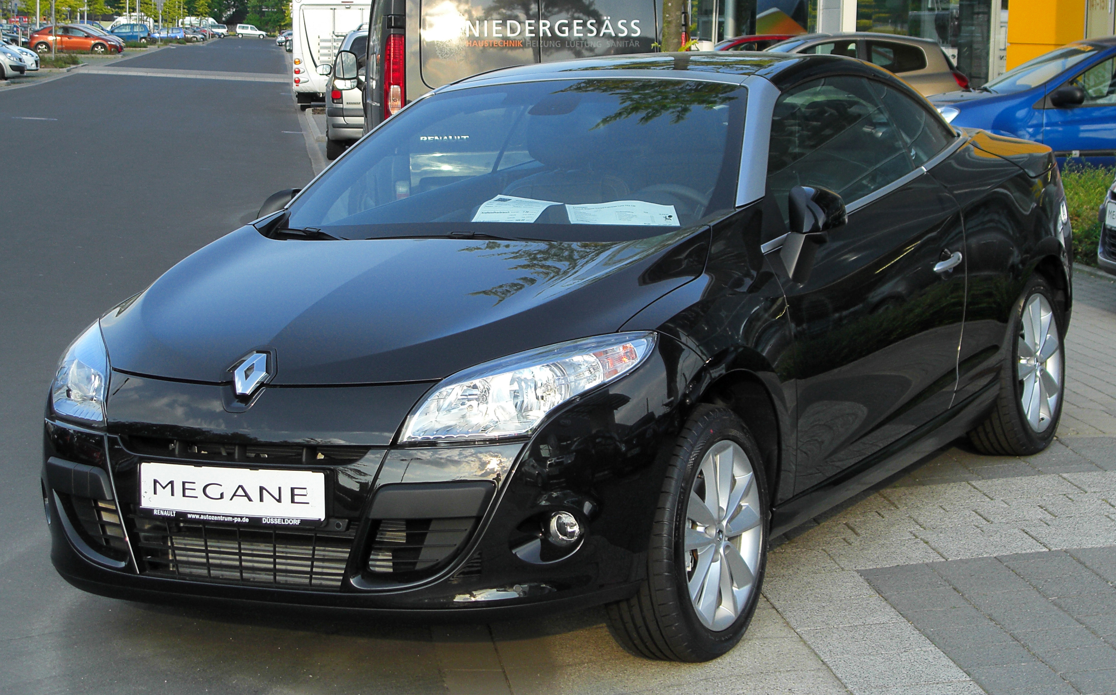 renault megane iii cc 2010 pictures