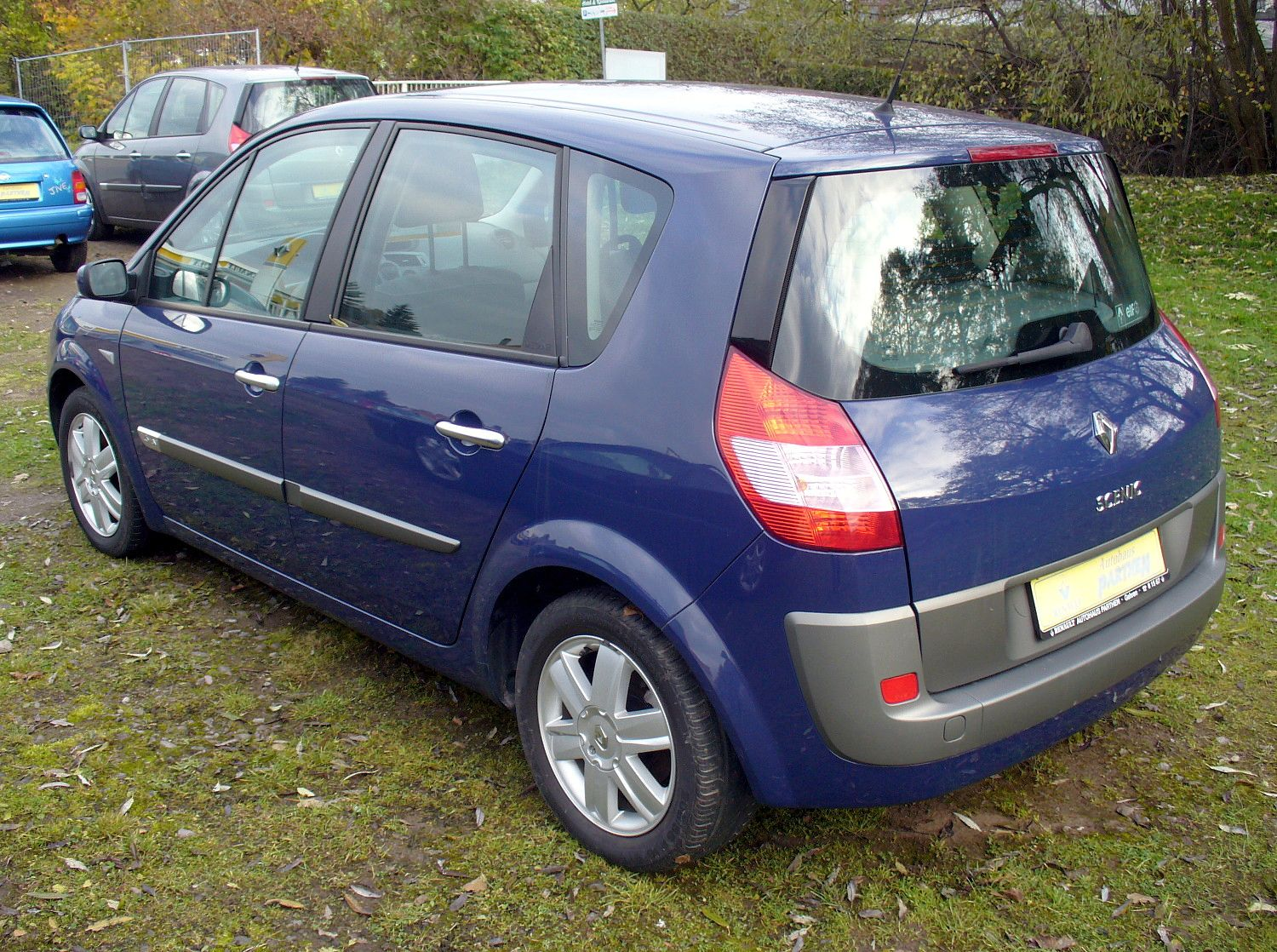 2007 renault scenic ii pictures information and specs auto. Black Bedroom Furniture Sets. Home Design Ideas