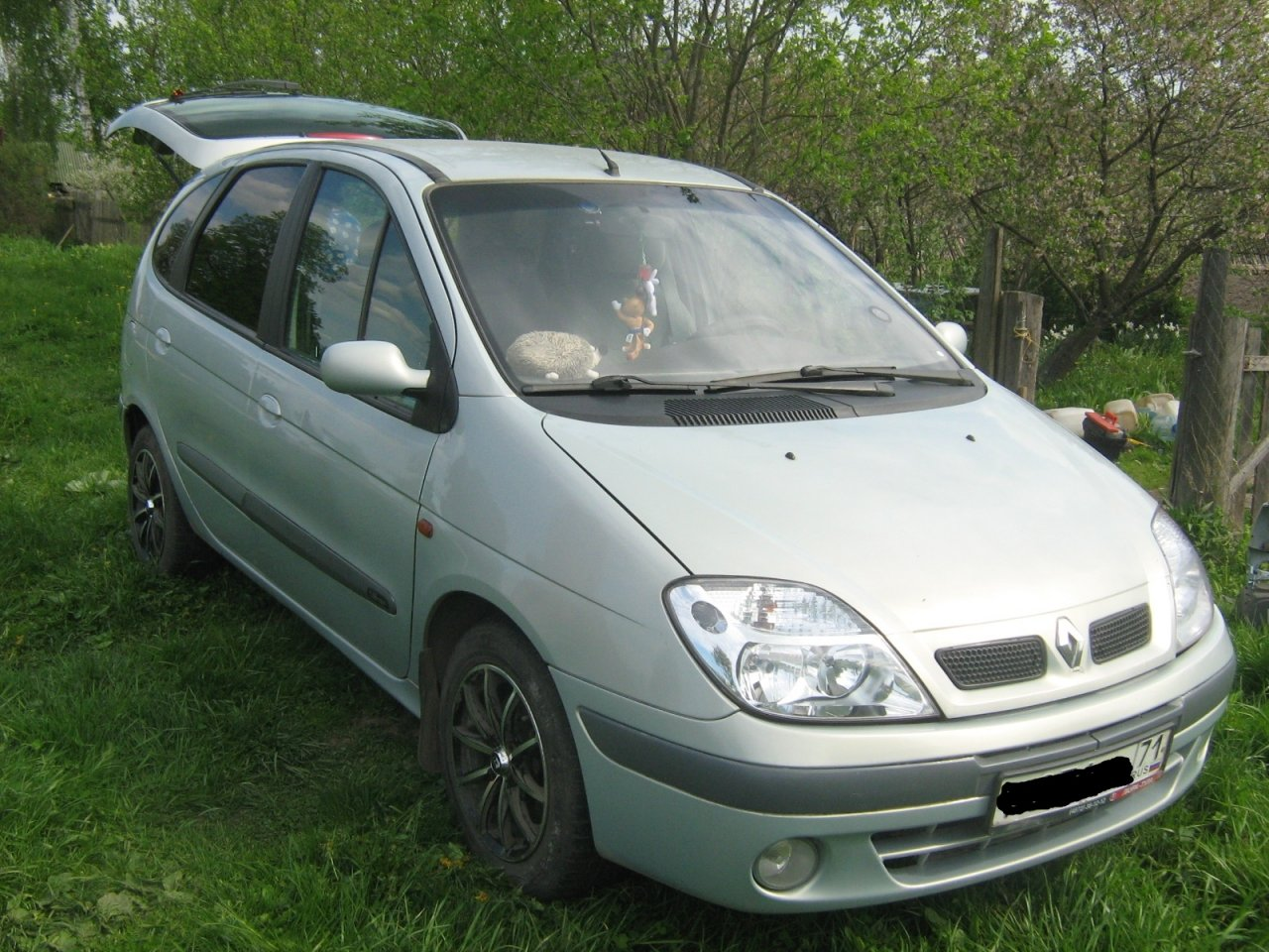 2002 Renault Scenic (ja) – pictures, information and specs - Auto-Database.com