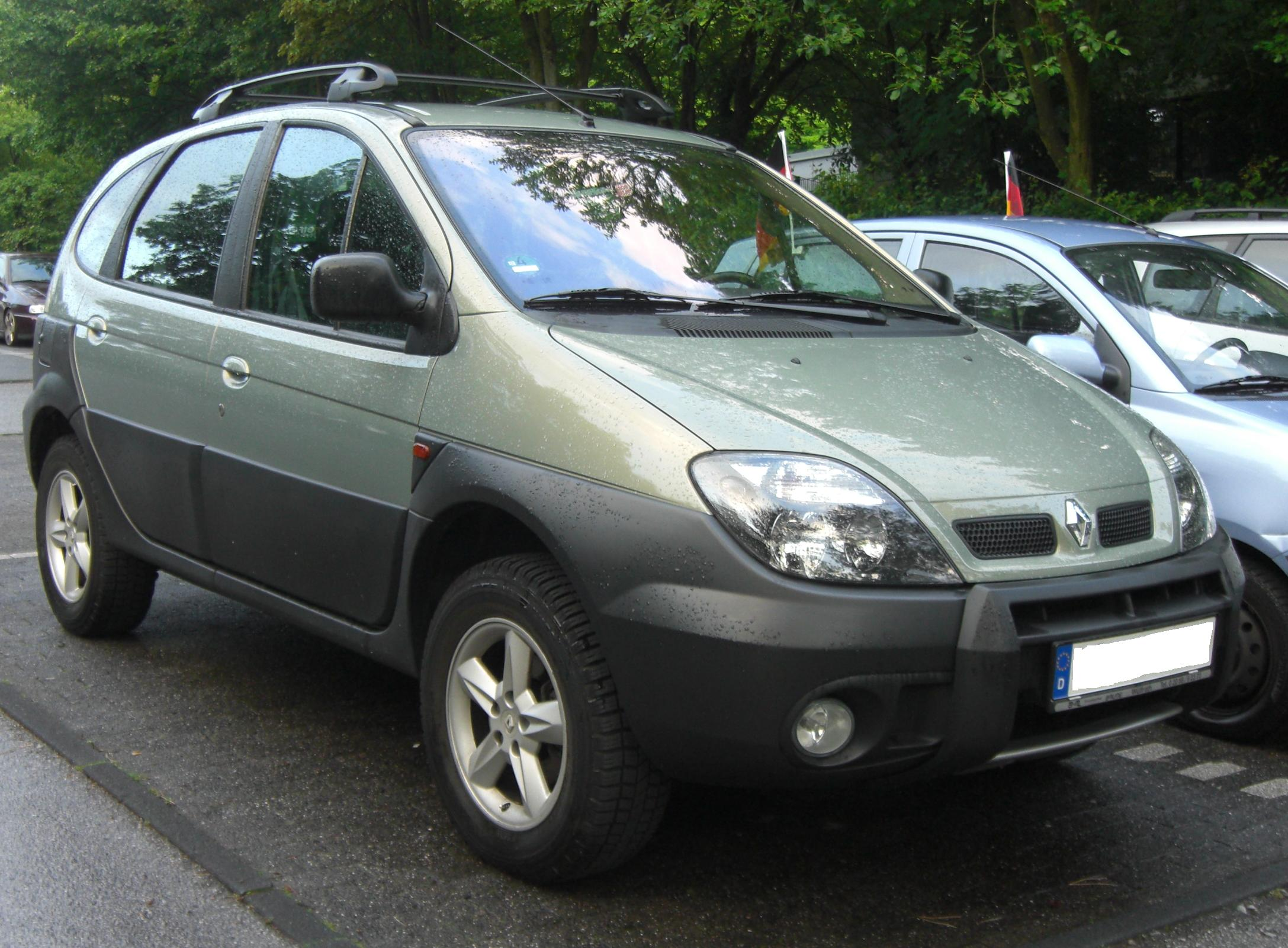 2002 renault scenic rx ja pictures information and specs auto. Black Bedroom Furniture Sets. Home Design Ideas