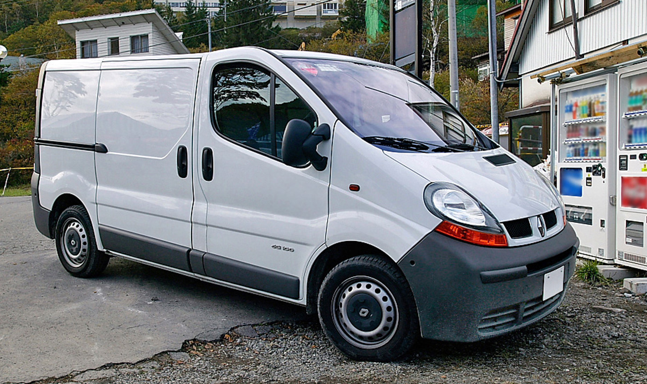 renault trafic 2 2009 wallpaper