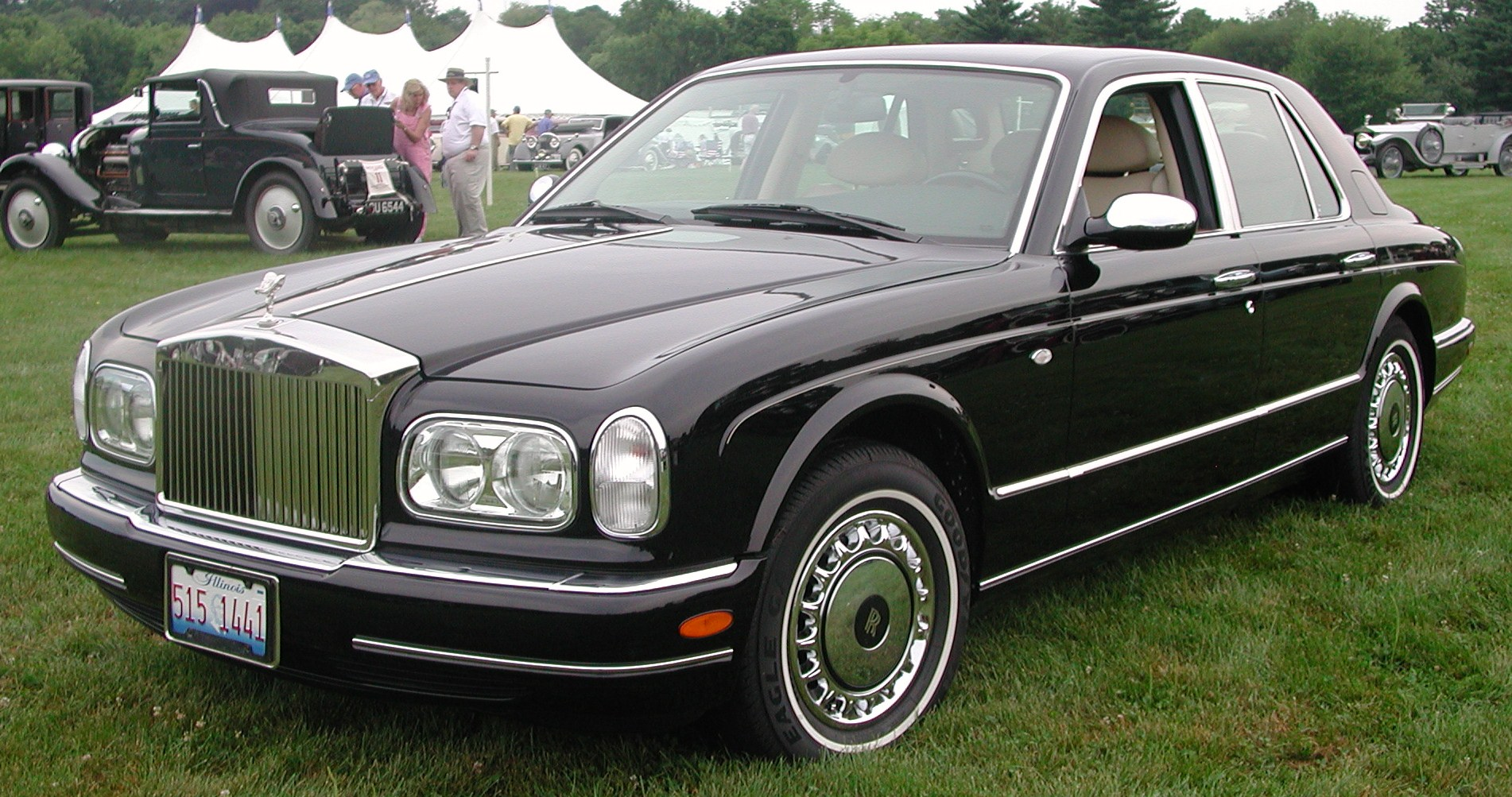 rolls-royce silver seraph pictures