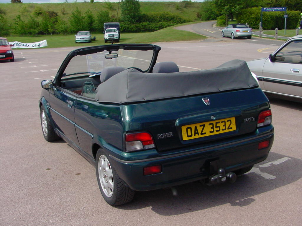 1996 Rover 100 (metro) (xp)   pictures, information and specs
