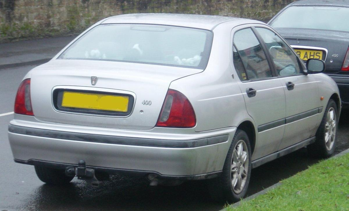 rover 400 (xw) 1991 models