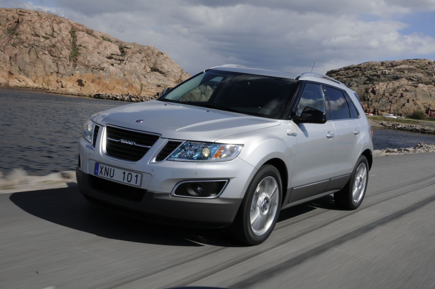 saab 9-4x wallpaper #9